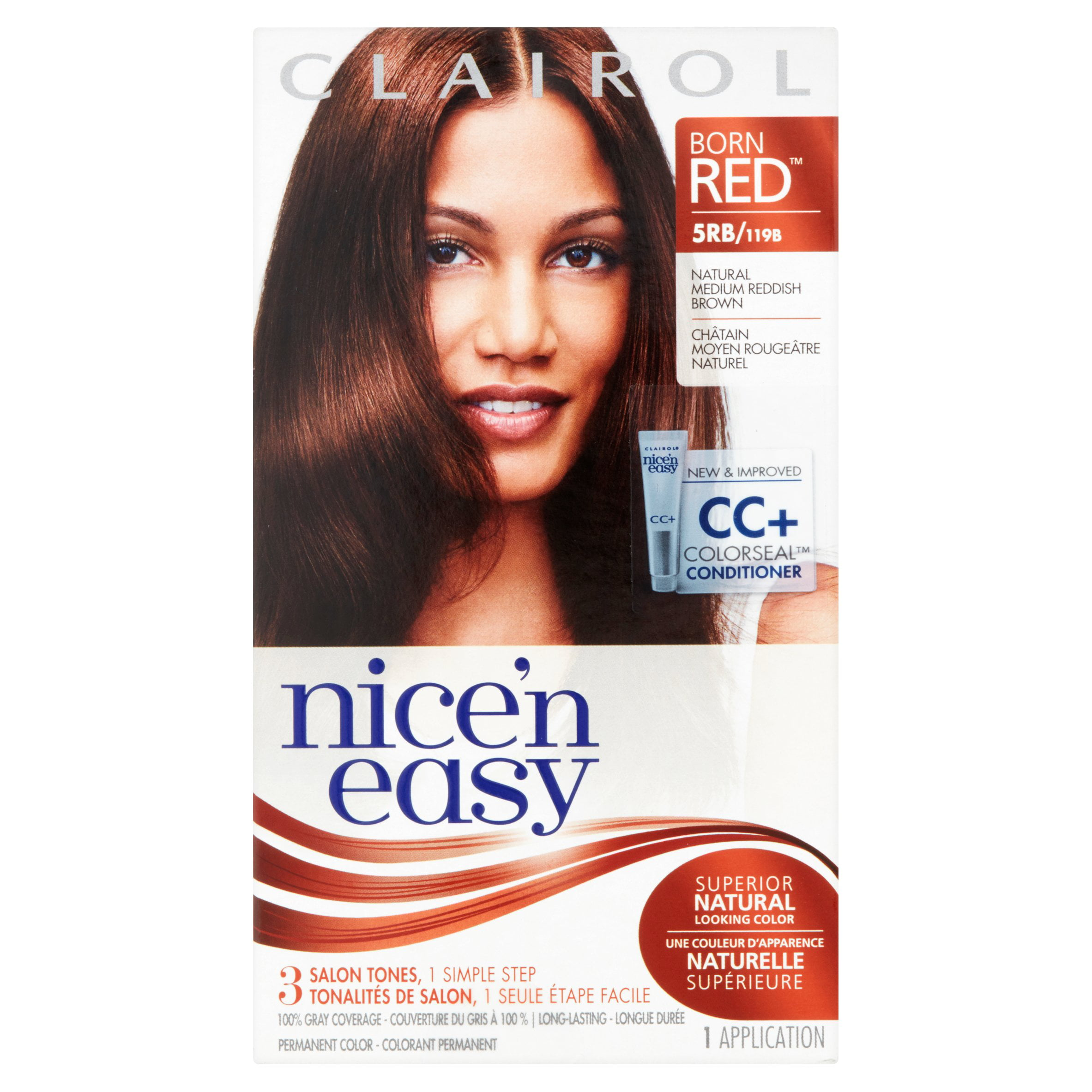 Clairol Nice 'N Easy Hair Color - 5RB Natural Medium Reddish Brown