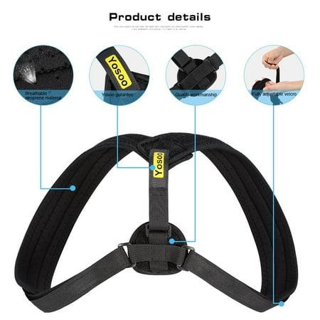 e97f5d0d111 Back Posture Corrector for Women & Men,Adjustable Clavicle Brace for  Posture Correction Back Corrector Posture Support Strap