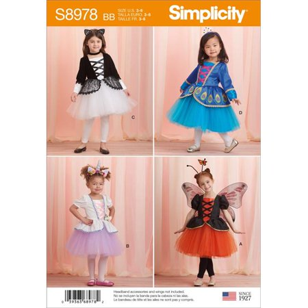 Group Halloween Costume Ideas For Work (Simplicity US8978BB Toddlers Halloween Costumes, Size)