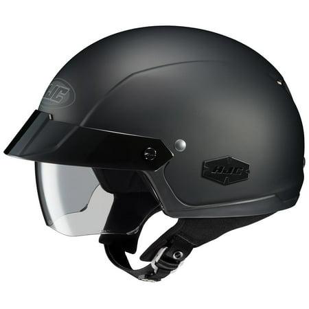 HJC IS-Cruiser Solid Helmet Matte Black (Black, (Solid Cruiser Helmets)