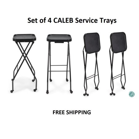 - Set of 4 CALEB Styling Trays, Service Tray Coloring Tray Tattoo Tray perfect for Styling stations, Salon, Barbershop & Tattoo Studio