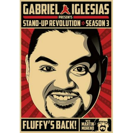 Gabriel Iglesias Presents Stand-Up Revolution: Season 3 (DVD) (Gabriel Iglesias Halloween)