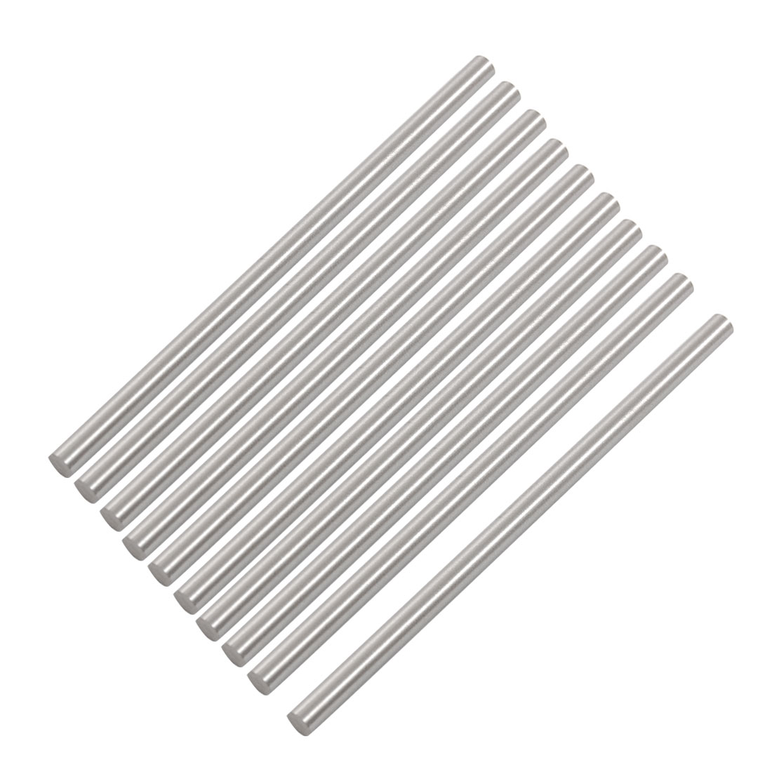 Unique Bargains 10x HSS High Speed Steel Round Turning Lathe Bars 4.5mm x 100mm by Unique-Bargains