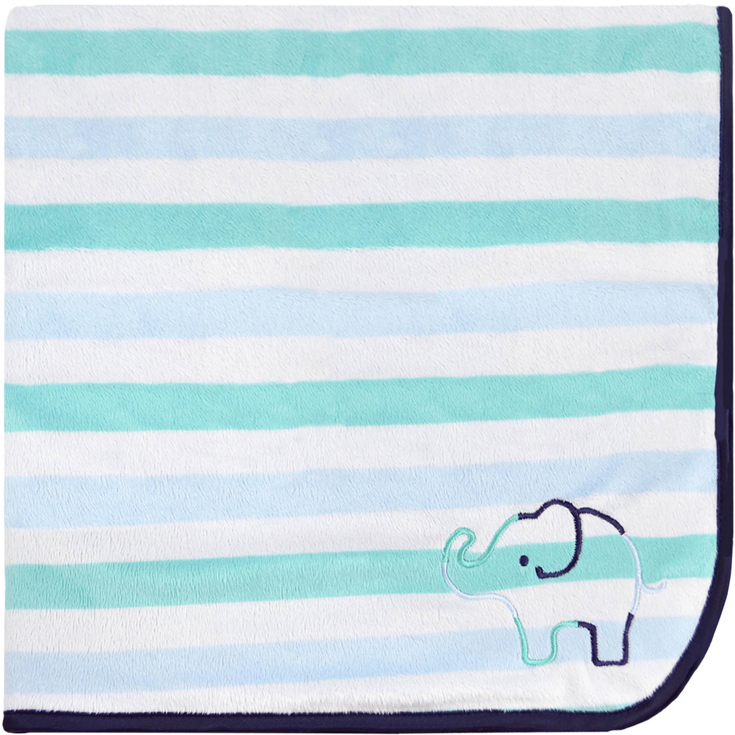 Child of Mine by Carter's Newborn Baby Boy 2-Ply Valboa Blanket
