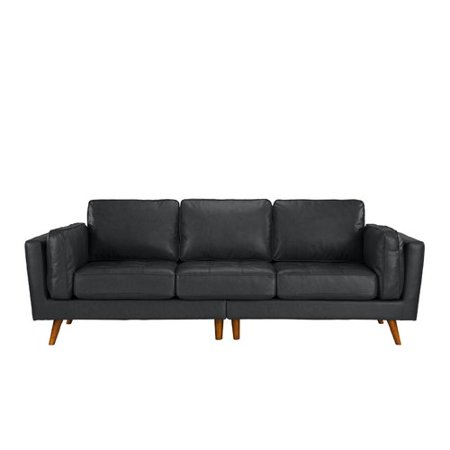 Madison Home USA Mid Century Leather Sofa