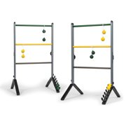 EastPoint Sports Go Gater Premium Steel Ladderball Set; Portable and Built to Last; Precision Engineered Ladders, Soft-Touch Bolos, Deluxe Scoring Built In; Game Rules Included; Great for All Ages