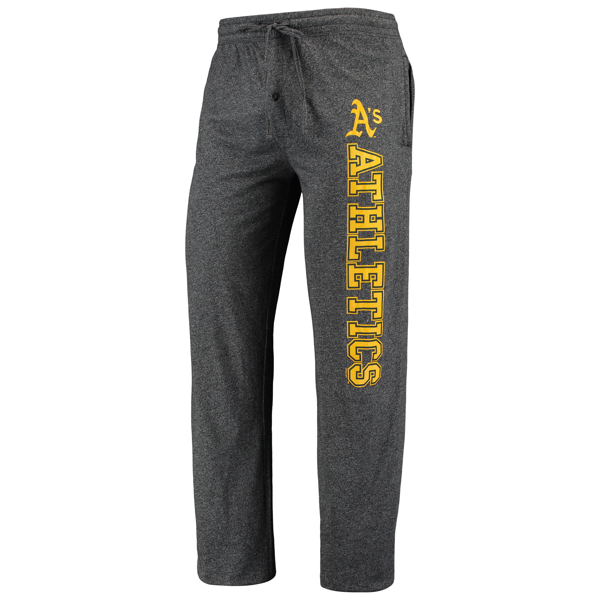 Oakland Athletics Concepts Sport Quest Pants - Heathered Charcoal