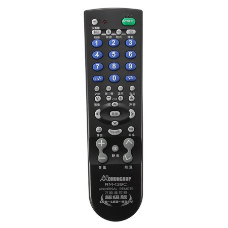 Wireless Universal TV Remote Controller Remplacement Control  for Multiple Brand TV (Universal Temperature Controller)