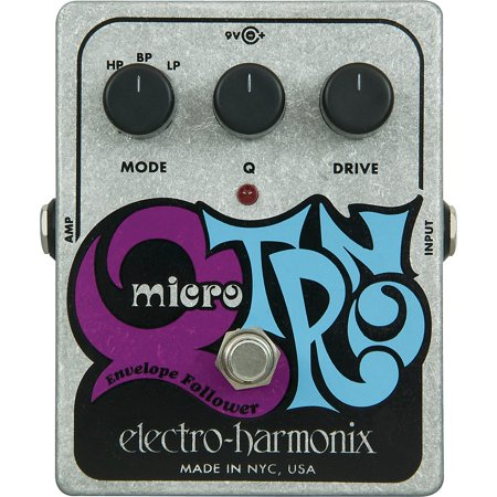Electro-Harmonix XO Micro Q-Tron Envelope Filter Guitar Effects - Vintage Guitar Effects Pedals