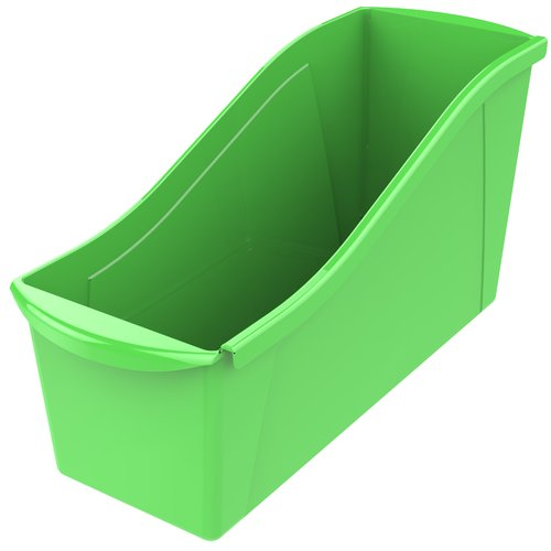 STOREX Large Book Stackable Cubby Bin (Set of 6)
