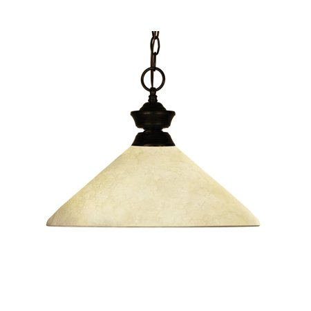 New zlite Product  Chance/Bourbon Collection 1 Light Pendant in Bronze Finish Sold by VaasuHomes (1 Light Bourbon)