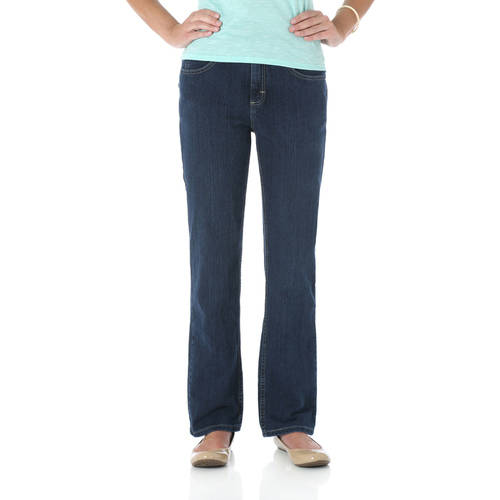 The Riders By Lee Women's Classic Fit Straight Leg Jeans ...