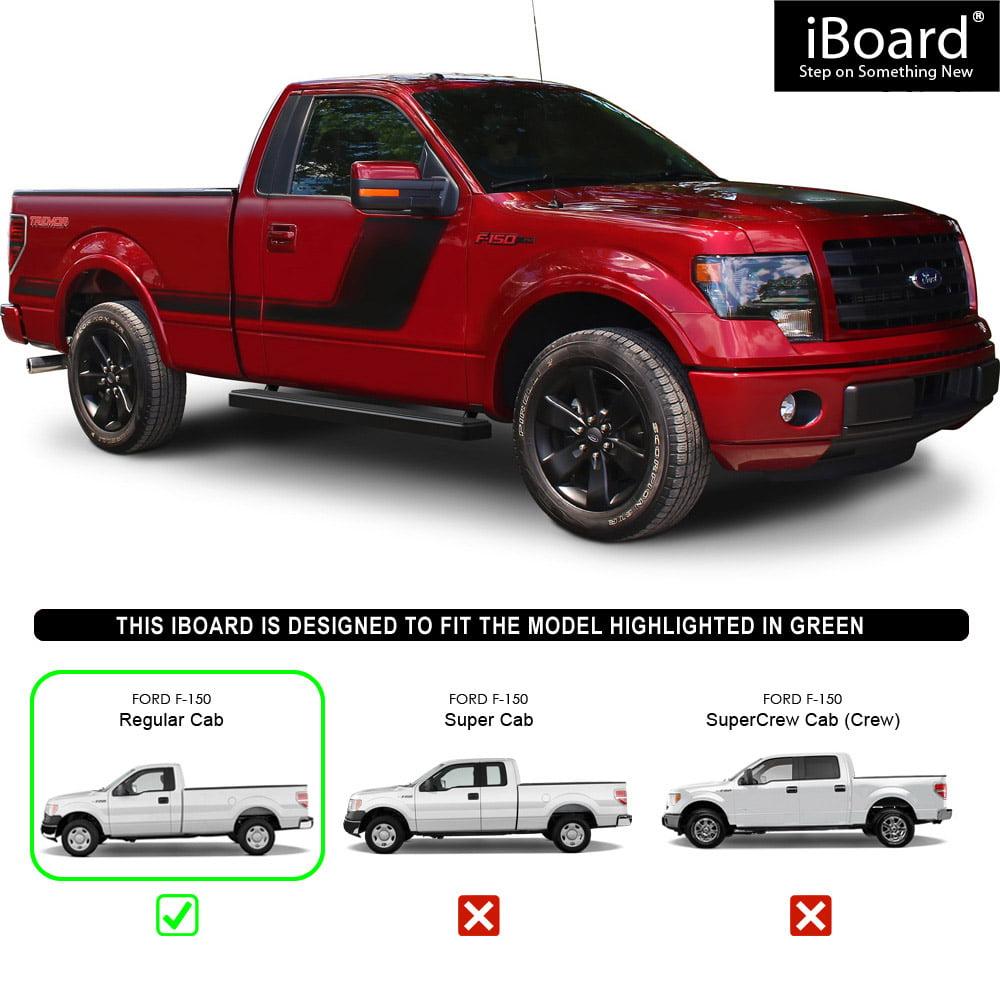 Iboard running board for selected ford f150 regular cab walmart com