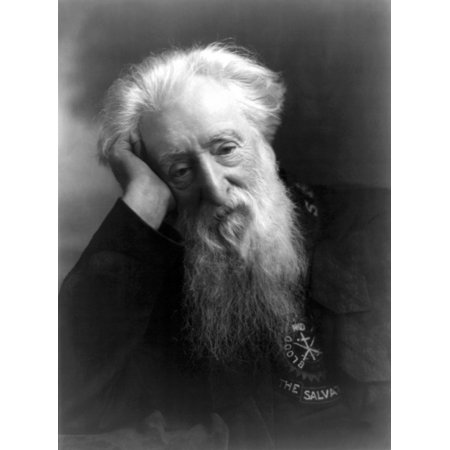 William Booth 1829 To 1912 British Methodist Minister Preacher And Founder Of The Salvation Army From The Book The Year 1912 Illustrated Published London 1913 Canvas Art - Ken Welsh Design Pics (12 x