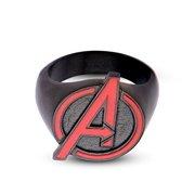 Marvel Avengers Age Of Ultron Avengers Logo Stainless Steel Ring | 12