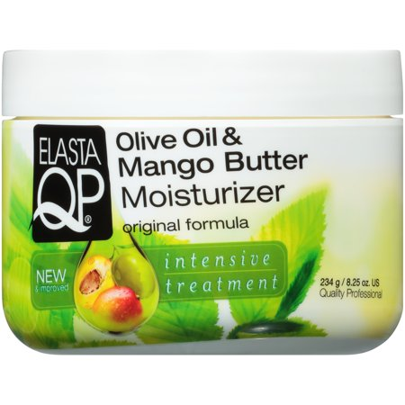 Elasta QP® Olive Oil & Mango Butter Moisturizer Intensive Treatment 8.25 oz. Jar (Loc Butter Hair Moisturizer)