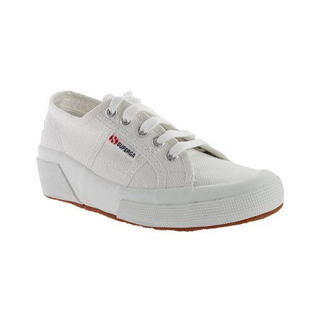 Superga Cotu Wedge Sneakers Women  Round Toe Canvas  (Superga Kids Classic Shoe)