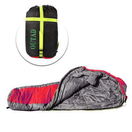 Camping Sleeping Bag Resistant Portable Envelope Compression Sack Carrying Case Fits 3