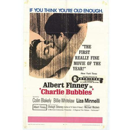 - Charlie Bubbles Movie Poster Print (27 x 40)
