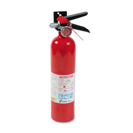 Kidde ProLine Pro 2.5 MP Fire Extinguisher, 1 A, 10 B:C, 100psi, 15h x 3.25 dia, 2.6lb for $<!---->