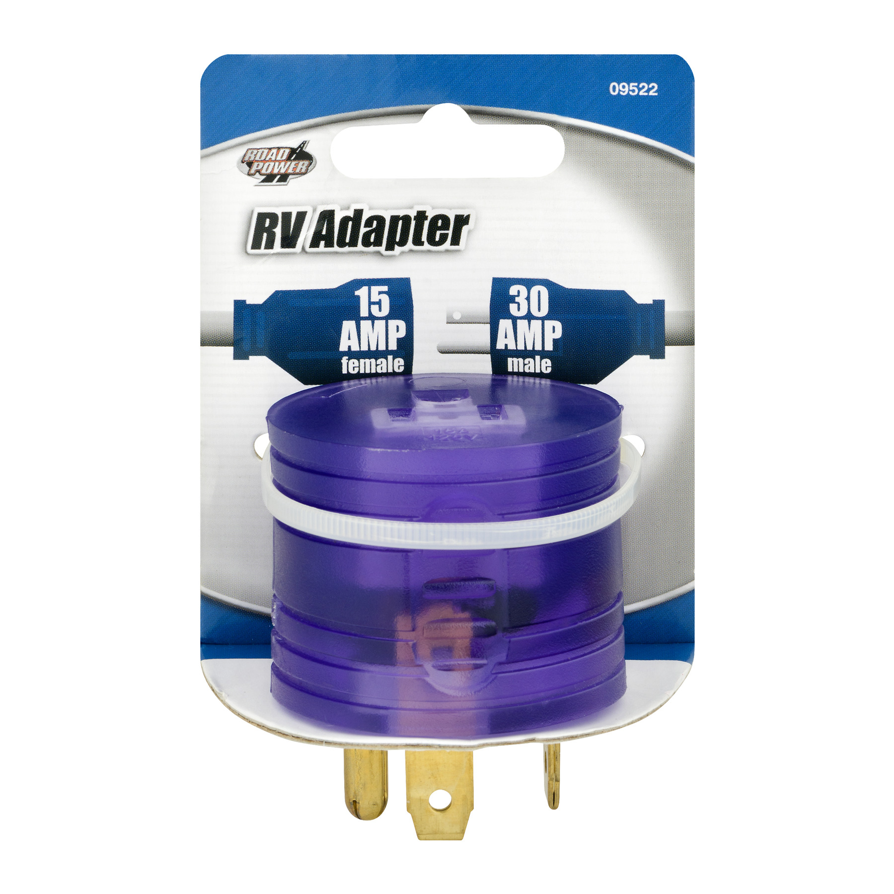 Road Power 30-15-Amp RV Power Adapter