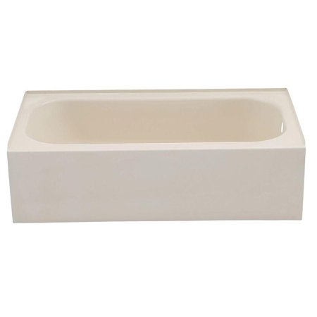 Undermount Soaking Tub - Maui 5 ft. Right Drain Soaking Tub in Bone
