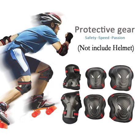 - Knee Elbow Wrist Protective Pads Sets,CoastaCloud 6pcs Protector Guard Pad Gear,for Child Kids Roller,for Skating Skateboard Cycling Biking Mini Bike Riding,Blue