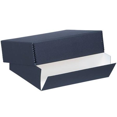 - Museum Archival Drop-Front Storage Box, Acid-Free with Metal Edges, 8.5 X 10.5 X 3 inches, Black (733-2008) Lineco - 8x10