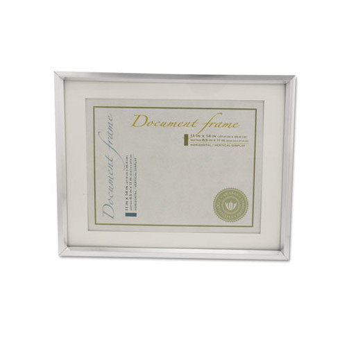 Universal Plastic Document Frame for 11 X 14 Insert with Mat