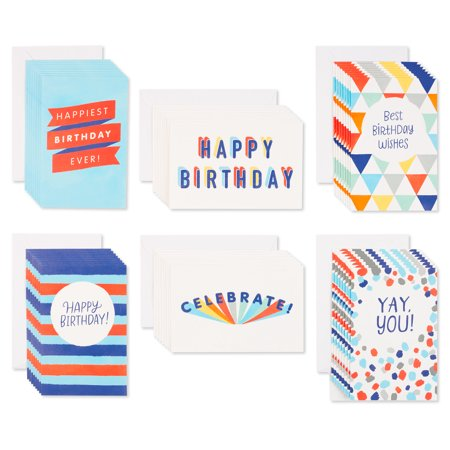 American Greetings 48-Count Assorted Birthday Greeting Cards ()