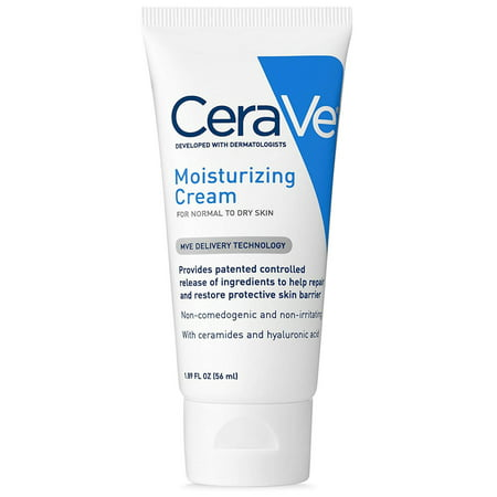 Moisturizing Cream, Ivory, maintains protective skin barrier By CeraVe