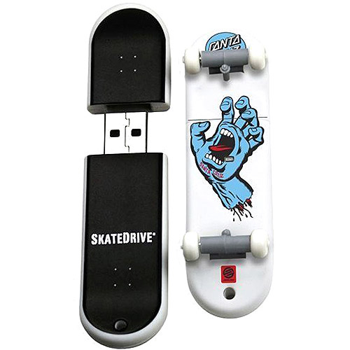 Santa Cruz 8GB Screaming Hand SkateDrive USB Flash Drive