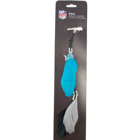 Detroit Lions Team Color Feather Hair Clip