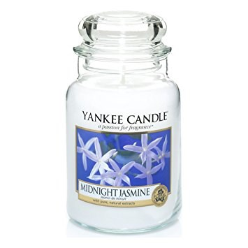 Yankee Candle Midnight Jasmine Scented Large Jar 22 oz by Yankee Candle
