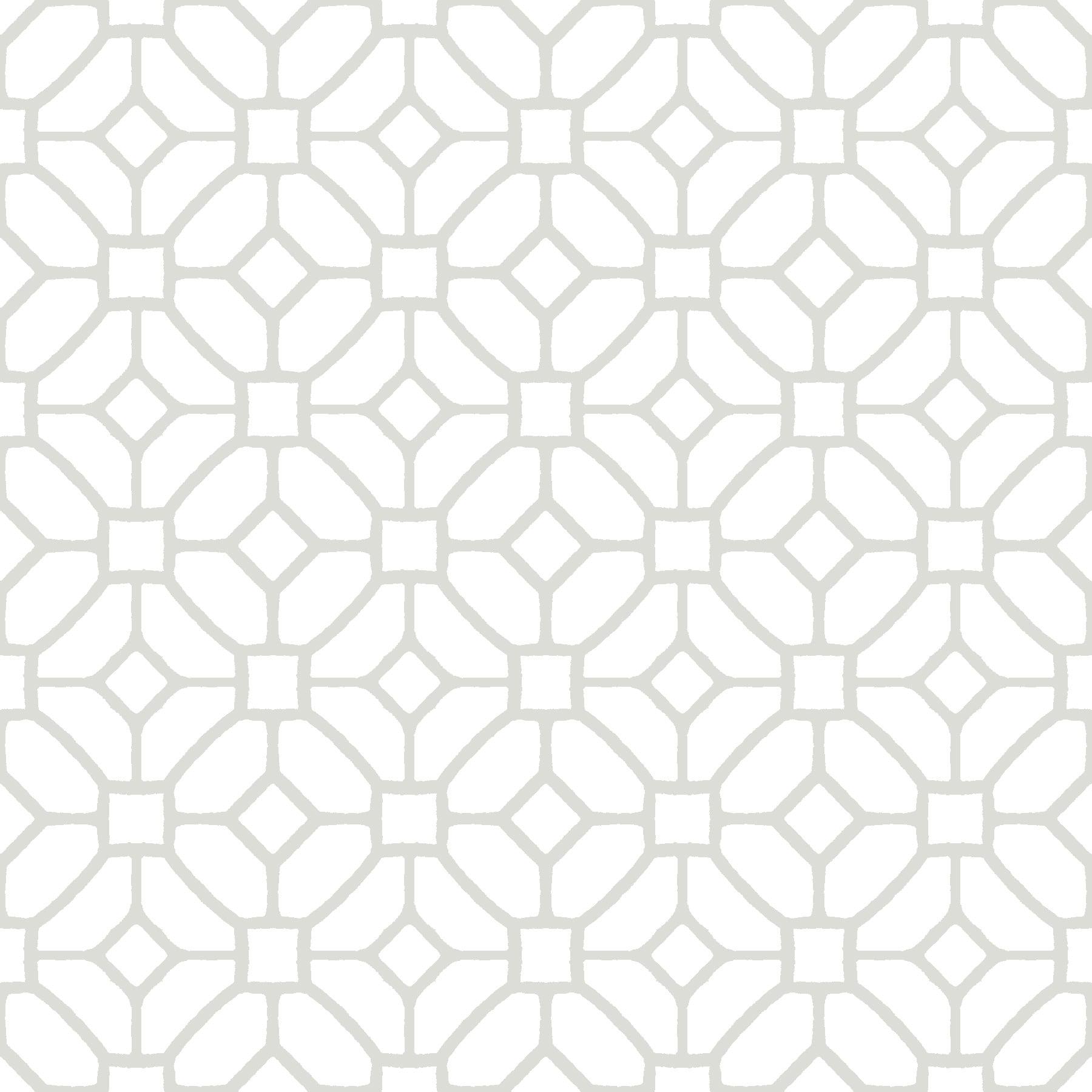 FloorPops Lattice Peel & Stick Floor Tiles 10 Tiles/10 sq. ft.