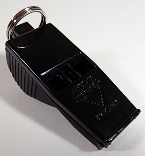 ACME Tornado Pealess Official Referee Whistle - Black #623
