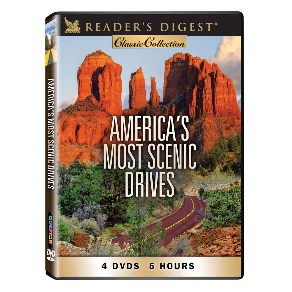 America's Most Scenic Drives - 4 Disc DVD Set