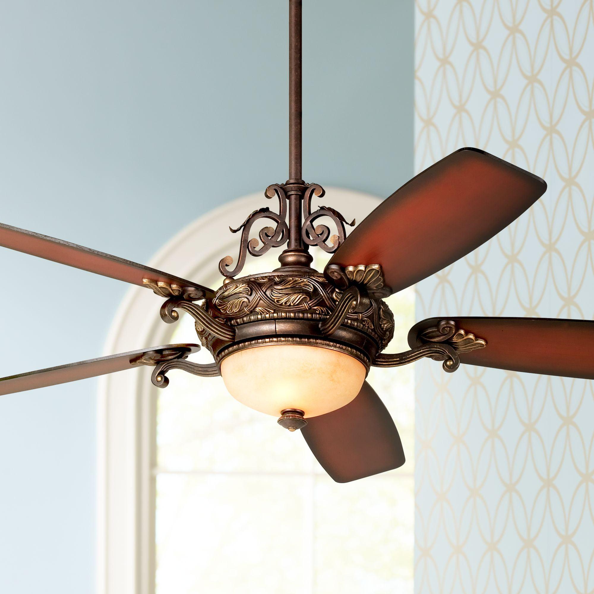 56 Casa Esperanza Vintage Ceiling Fan with Light LED ...
