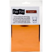 "WOW! Fab Foil 4""X28""-Bright Copper"