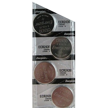 4 Pack Energizer CR2430 Lithium Coin Button Cell battery (Lithium Batteries Cr2430)
