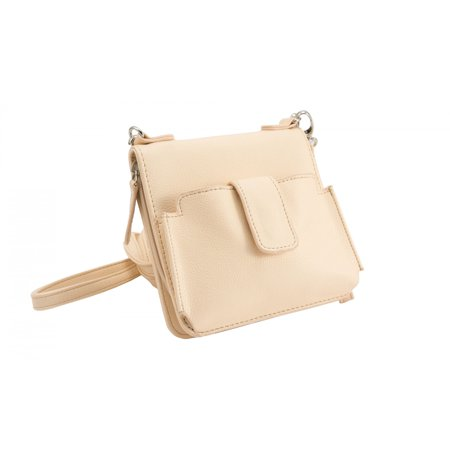 Sanis Aimee III, Cross-body Handbag with RFID Shielding - Beige