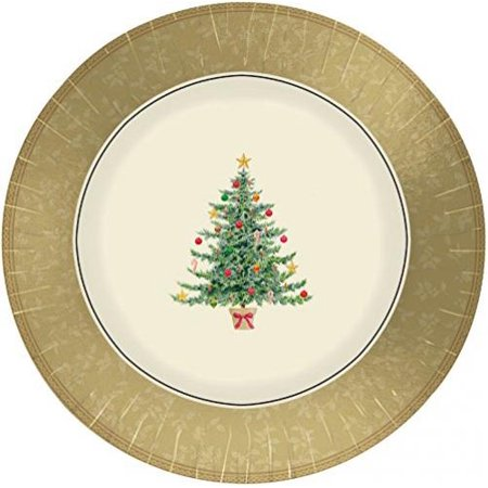 Classic Victorian Tree Banquet Plates (8ct)
