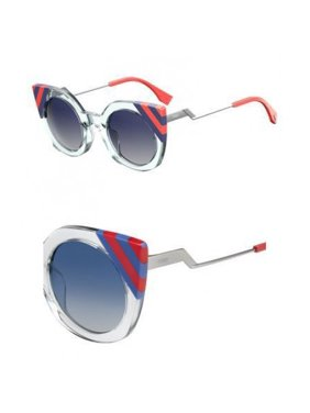 Sunglasses Fendi Ff 240 /S 01ED Green / UY blue sf gray lens