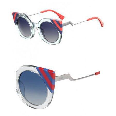 Sunglasses Fendi Ff 240 /S 01ED Green / UY blue sf gray lens