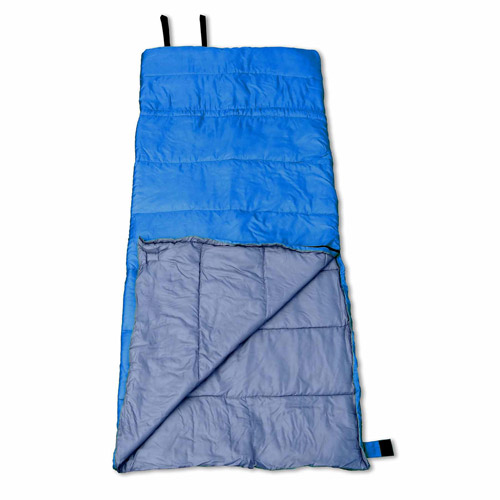 GigaTent SL-01 Badger Sleeping Bag, Blue and Grey