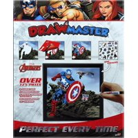 Drawmaster Marvel Avengers: Captain America, Hawkeye and Black Widow (Deluxe Set) (Other)