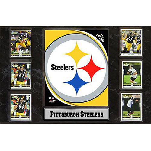 NFL Pittsburgh Steelers 6-Card Plaque, 13x20