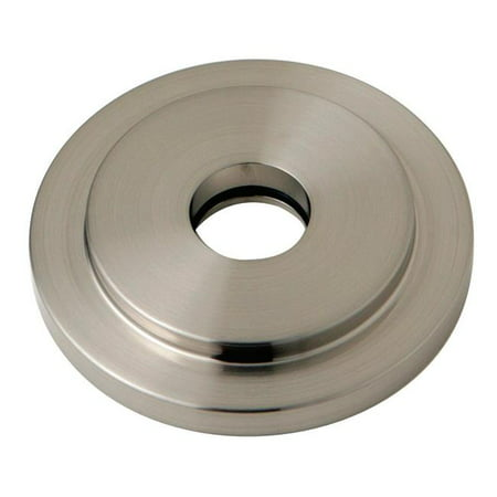 Heavy Duty Round Solid Cast Brass Shower Flange, Satin Nickel