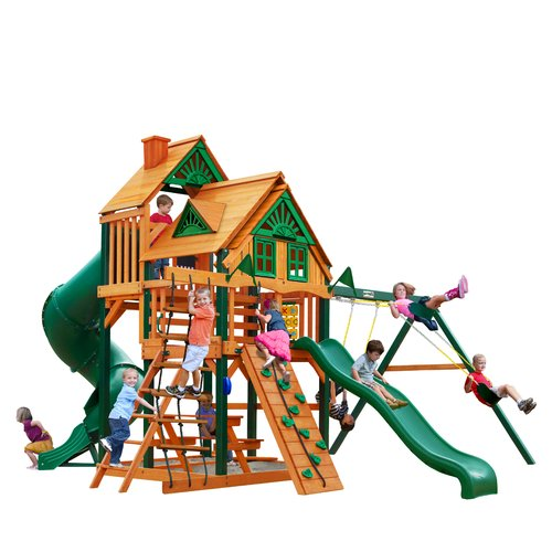 Gorilla Playsets Great Skye I Treehouse Swing Set by Gorilla Playsets