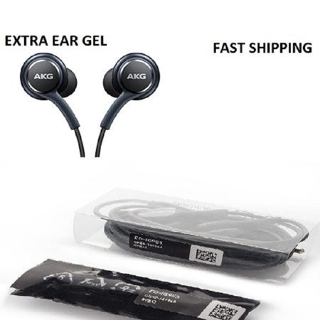 Akg Personal Audio Headphones (New OEM  Samsung Galaxy S8 S8+ S9 S9+ AKG Ear Buds Headphones Headset EO-IG955  New Original  With extra Ear)